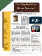 SVRWF June 2014 Newsletter