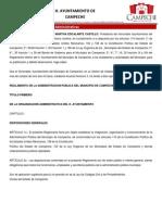 Atribuciones_administrativas Del Municipio