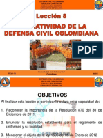 Av 8 Normatizacion Defensa Civil Colombiana