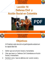 AV 14 La Defensa Civil Y Acción Social en Colombia