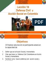 AV 14 La Defensa Civil Y Acción Social en Colombia