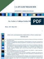 Etica en Los Negocios - Emprendimiento y Liderazgo - 2014 (1)