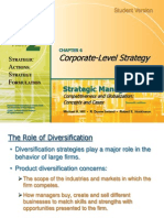 Strategic MAnagment-Corporate level strategy