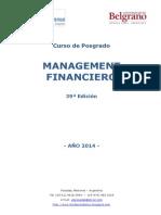 Programa Management Financiero UB-Misiones 2014