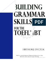 TOEFL - Grammar