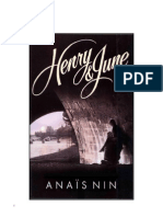 Nin Anais - Henry Y June