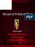 Hack Your Car for Boost and Power