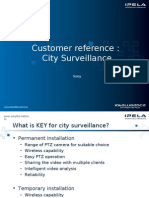 SONY CCTV NVM City Surveillance Customer Reference