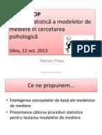 Mediere - Workshop Sibiu Oct 2013