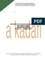 Kkm Bahasa Indonesia Kelas x