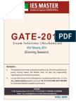 GATE 2014sol(ME)(Evening)