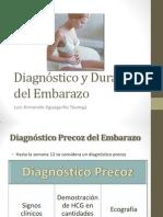 Diagnóstico y Duración Del Embarazo