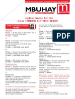 Guide to the New Roman Missal Printable