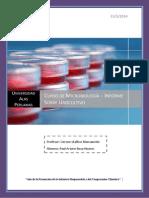 Urocultivo - Informe de Microbiología