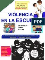 La Violencia en El Contexto Escolar Ccesa