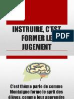 Montaigne Presentacion