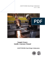 Nsbasoqa 1 Qa Fabrication Manual Aashto