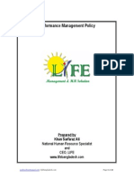 Performance Management Policy