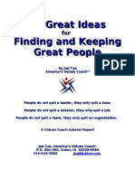 50 Great Ideas Finding and Keeping Great People
