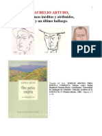 AURELIO ARTURO, Poemas inéditos y atribuidos,  y último hallazgo.