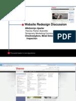 Website Redesign Presentation
