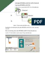 Các bước thiết lập liên kết giữa OPCKEPseverExV4.0