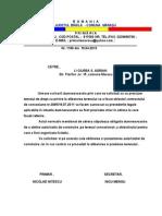 Rasp.adresa Ciurea AuSP.ADRESA CIUREA Atorizatie