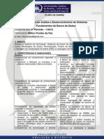Plano de Ensino Fundamentos de Banco de Dados 1 2012 - ADS