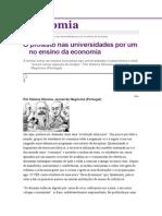 O Protesto Nas Universidades Por Um No Ensino Da Economia