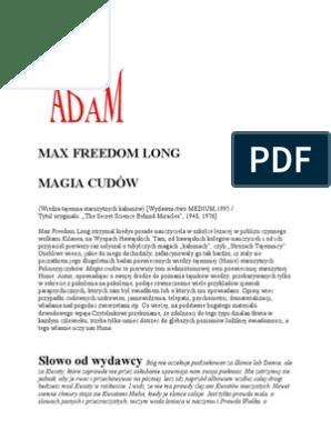 Long Max Freedom Magia Cudów