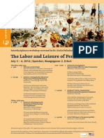 The Labor and Leisure of Performance_Poster