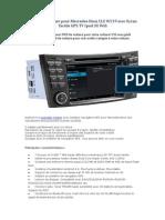 Autoradio Voiture Pour Mercedes-Benz CLS W219 Avec Ecran Tactile GPS TV iPod 3G Wifi