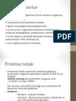Proteine serice
