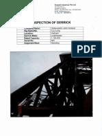 Load Master - Inspection of Derrick Report