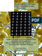 2010 World Solar Energy Review Technology Markets and Policies1