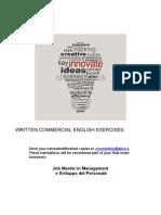 Written Commercial English Exercises Hr 2014 (Salvataggio Automatico)
