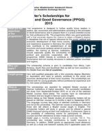 Public Policy and Good Governance 2015