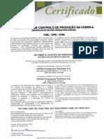 (Exemplo Certificado CPF) 1328-CPD-0166 CEPS Betume Novo