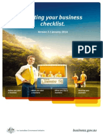 Starting Your Business Checklist
