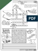 Crucigrama y Sopa Y Montessori