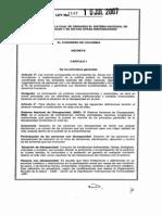 Ley 1145 Sitema Nacional de Discapacidad