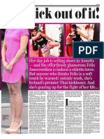 Ferial' Felix'  Ameeroedien in the Irish Daily Mail p2