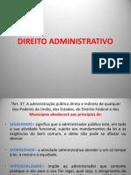 Direito Administrativo Meus Slides