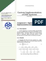 CIDSP Assignment 5