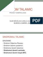 SINDROM TALAMIC