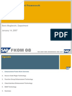 ABAP Enhancement Framework