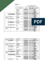 Jadwal Ujian Tengah Semester 201320142