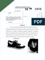 New Balance v. Lagerfeld - Complaint
