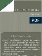PROCESSO TRABALHISTA