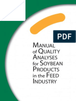 Manual of Quality Analysis-soy-products